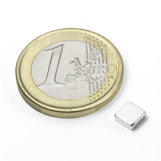 Image of   Blokmagnet 5x5x2 mm