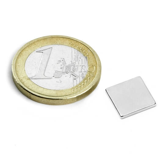 Image of Blokmagnet 10x10x1,2 mm
