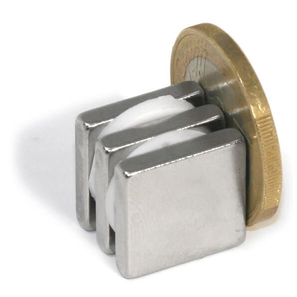 Image of Blokmagnet 15x15x3 mm