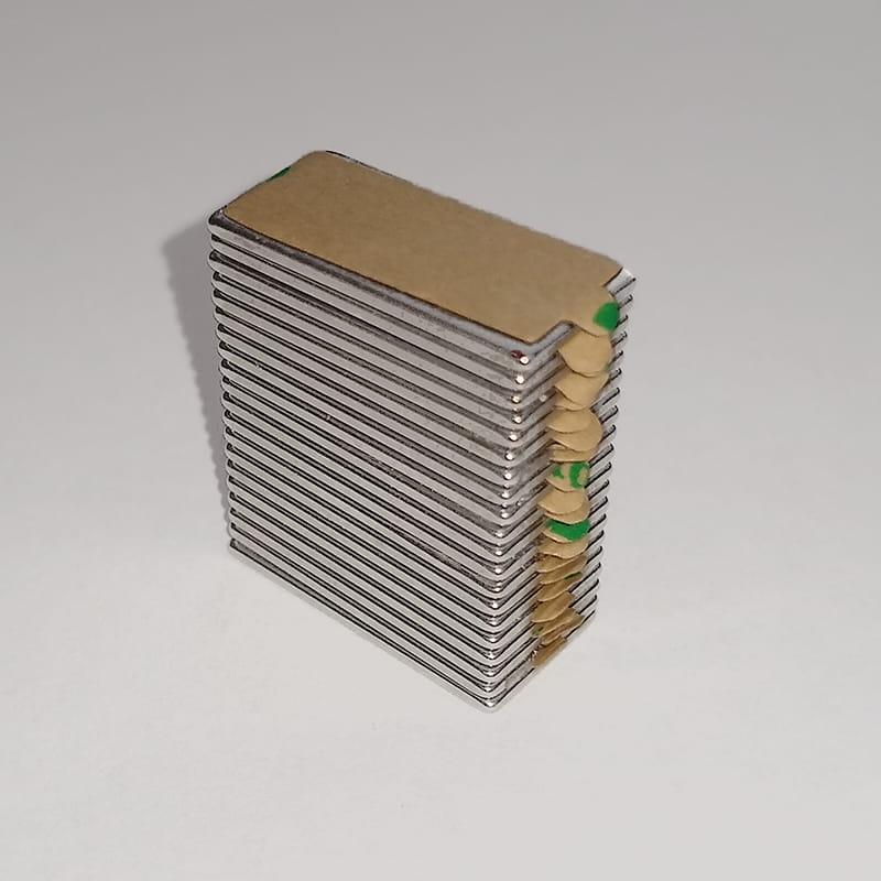 Image of   Blokmagnet m/lim, 200 styk, 20x10x1 mm