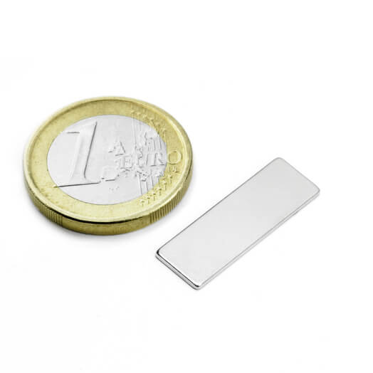 Image of Blokmagnet 25x8x1 mm