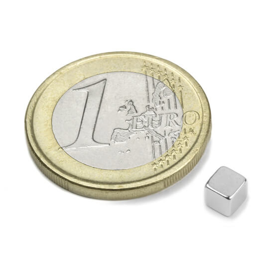 Image of Blokmagnet 4x4x4 mm