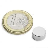 Disc magnet 10x5 mm N52