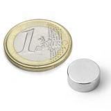 Disc magnet 12x5 mm