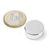 Disc magnet 20x7 mm
