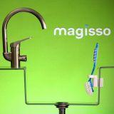 Magnetisk holder til opvaskebørste, plast