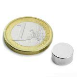 Neodym disc magnet, 10x5 mm