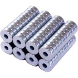 Neodym ring magnet Ø 6/2 mm, 2 mm