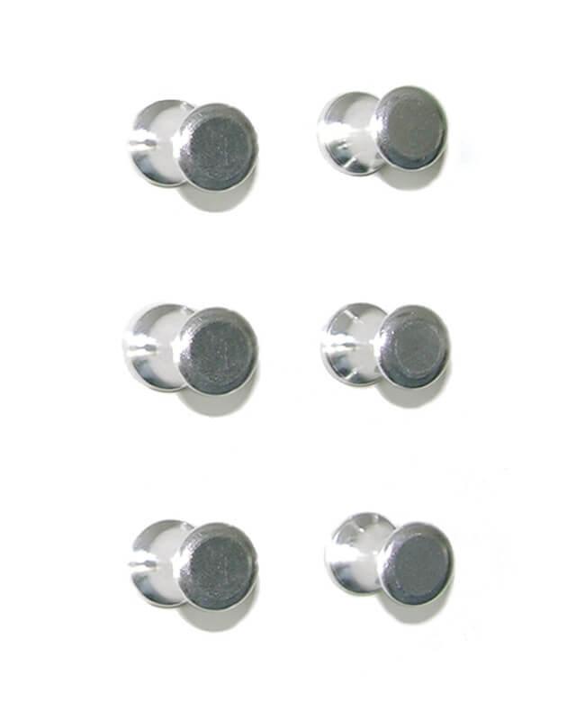 Billede af Magnetiske aluminiumsstifter 6 styk