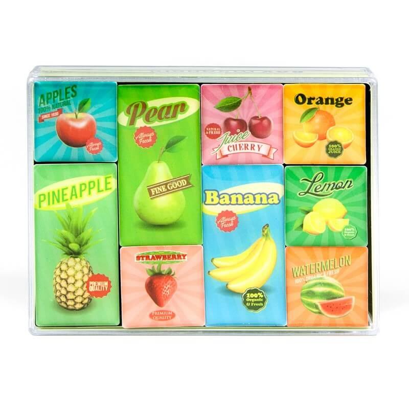 Billede af Magneter Fruit 9 styk