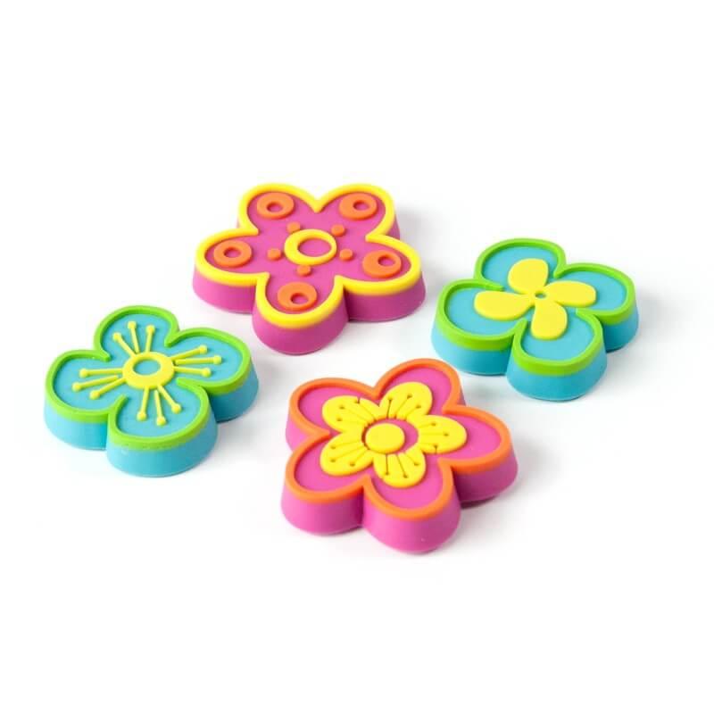 Billede af Magneter Flowers 4 styk