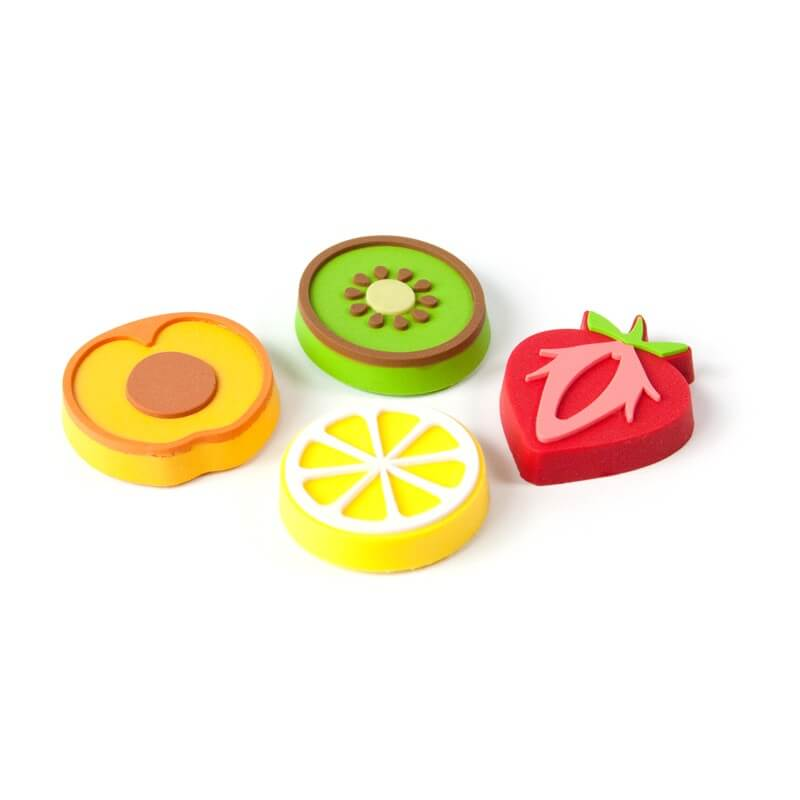 Image of   Magneter Fruits 4 styk