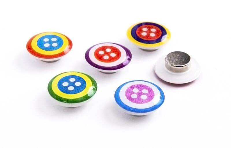 Image of   Buttons 6 styk