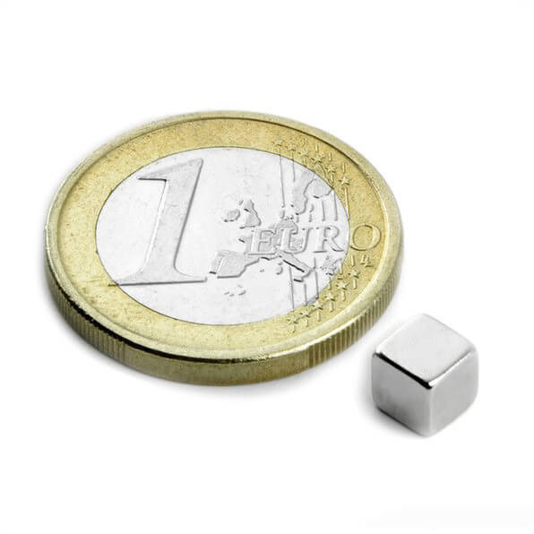 Image of   Blokmagnet 5x5x5 mm