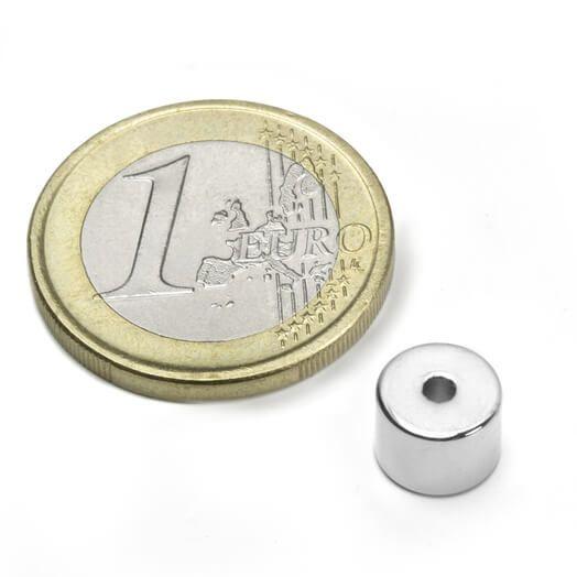 Ringmagnet Ø 8/2 mm, H6 mm