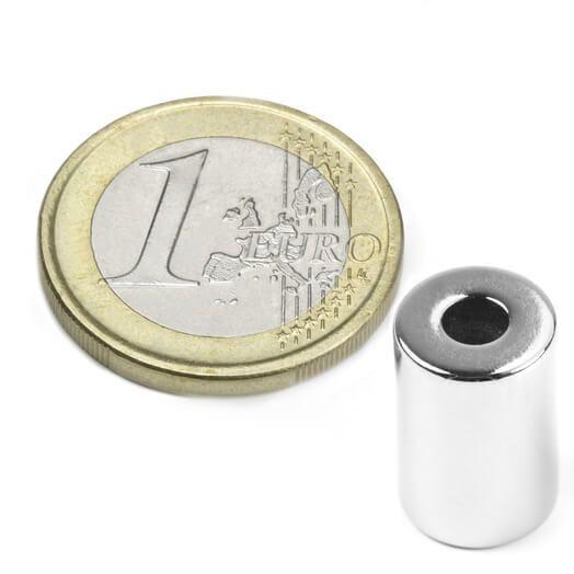 Ringmagnet Ø 10/4 mm, H 15 mm