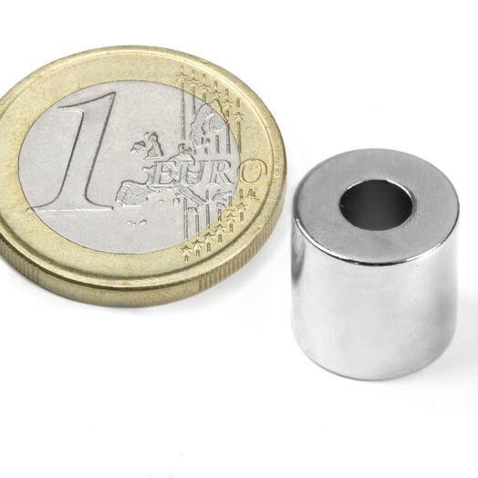 Ringmagnet Ø 12/5 mm, H 12 mm