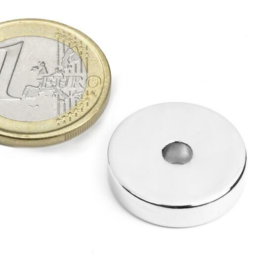 Ringmagnet Ø 20/4,2 mm, H 5 mm