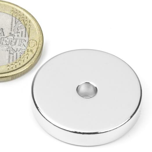 Ringmagnet Ø 25/4,2 mm, 5 mm