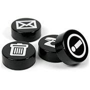 Magneter till glastavlor